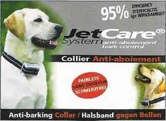 Anti-bark collars, medium-large dog, Jetcare