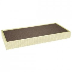 Cloth board in corrugated board with mint 47x22,5,5 cm