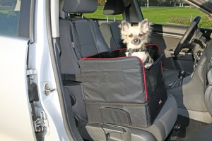 Car seat for small dogs 45x39x38.5 cm