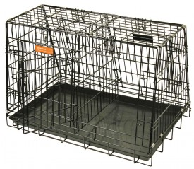 DP folding steel cage, double
