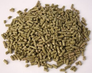 Rabbit pellets, whole bag 25 kg