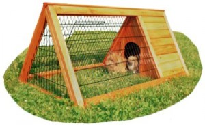 Outdoor cage triangular 116 x 63 x 53 cm