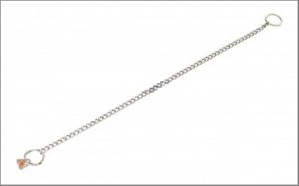 Twisted link stainless steel 2 mm