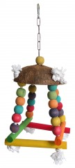 Bird toy swing