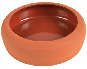 Ceramic Bowl with anti-spill edge 125 mL / 10 cm