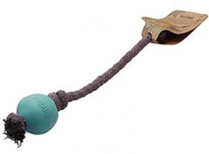 "Ball with string, uneven ""Beco"" 6.7cm"