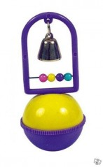 Bottom toy with bell