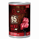 Core beef and broccoli soft food for dogs 400g