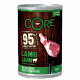 Core lamb and pumpkin, soft food for dogs 400g