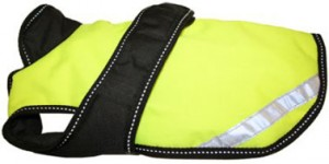 Neon Yellow reflective and thermal blanket