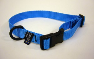 Adjustable fabric collar