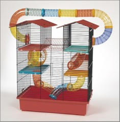 "Hamster cage ""Tower plus"""