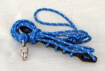 Safety rope with rubber spring