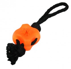 Dog toy, rubber floss rope 6.25cm