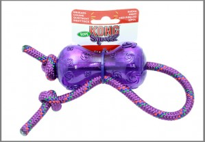 Squezz dumbbell with rope 47 x 5.5 cm