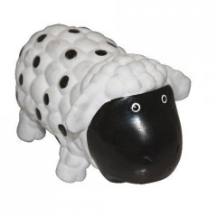 Latex sheep with grunting sound 18cm