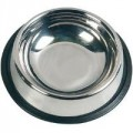 Food bowl stainless nontip 3 dl