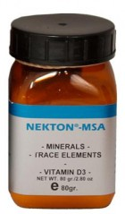 Nekton, MSA mineral supplement, 80g
