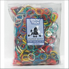 Rubber band in 1000 pack mixed colors
