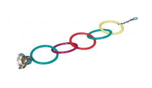 Olympic rings with bell