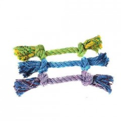 Rope with 2 knots