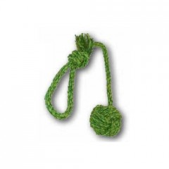 Rope ball with long handle 7 cm