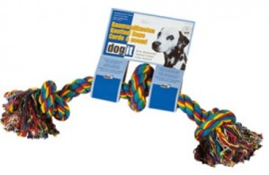 Rope Knot, multi-colored, 3 knots