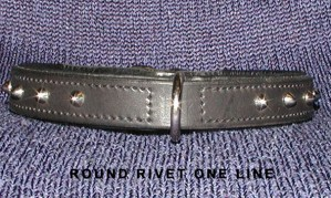 Rivet collar 1-row