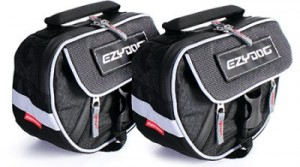 Saddle bags with reflective, EzyDog