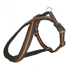 "Harness, black and neon red ""Touring"""