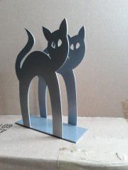 Napkin holder cat
