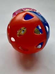 Double grid ball with jingle