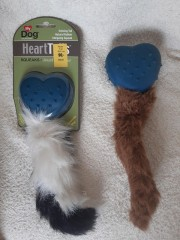 "Toy ""Heart-tail"" 28,5 cm"