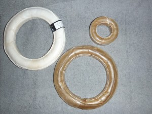 Chew Rings, pressed