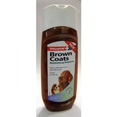 Vetzyme shampoo for brown dogs 250ml
